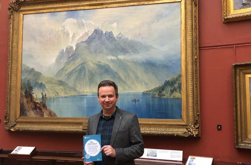 Mindful Tour at the Birmingham Art Gallery has launched