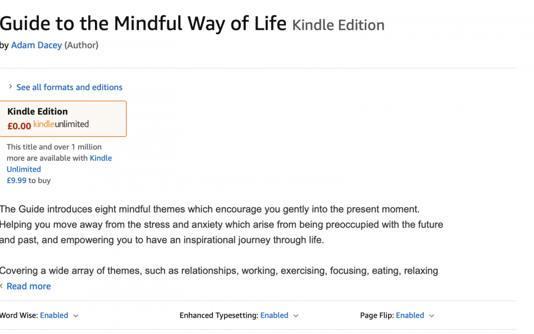 Ebook for Guide to the Mindful Way of Life