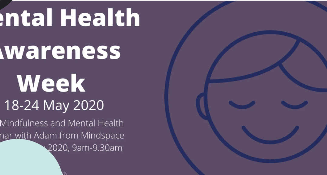 Mindfulness and Mental Health: Tuesday: 9.00am-9.30pm