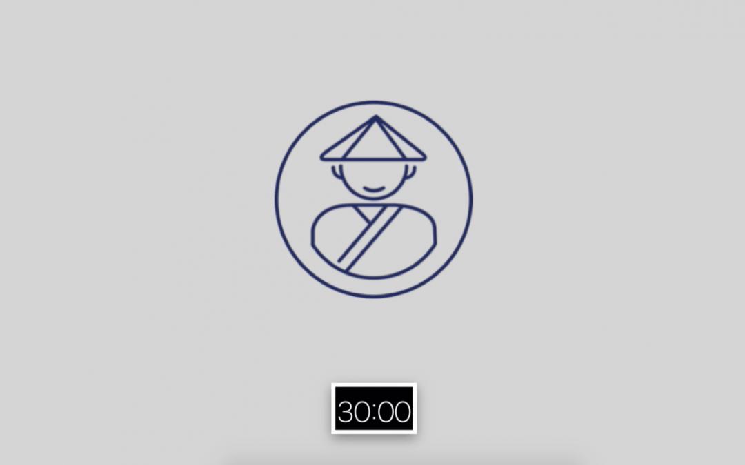 Meditation Timer   30 Minutes