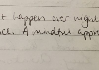 Mindful meditation review