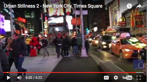Urban Stillness 2 – New York City, Times Square